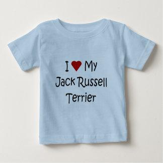Amo mis regalos del amante del perro de Jack Tee Shirts