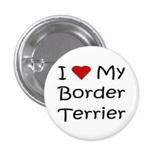 Amo mis regalos del amante del perro de Terrier de Pin