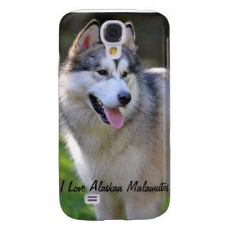 Amo mis regalos y novedades del Malamute de Alaska Samsung Galaxy S4 Cover