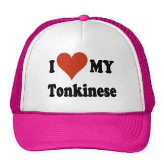 Amo mis regalos y ropa del gato de Tonkinese Gorro De Camionero