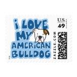 Amo mis sellos americanos del dogo