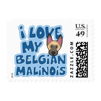 Amo mis sellos de Malinois
