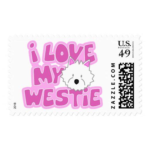 Amo mis sellos de Westie