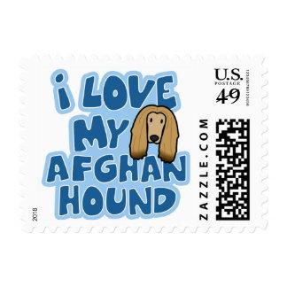 Amo mis sellos del afgano