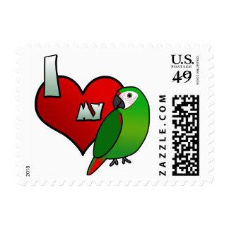 Amo mis sellos severos del Macaw
