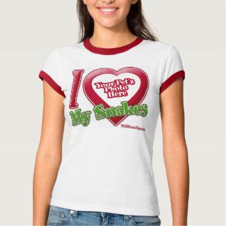 Amo mis serpientes - foto camisas
