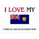 Amo mis turcos y mamá del isleño de Caicos Postal