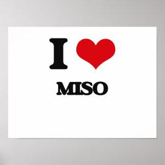 Amo Miso Póster