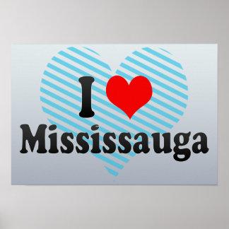 Amo Mississauga Canadá Impresiones