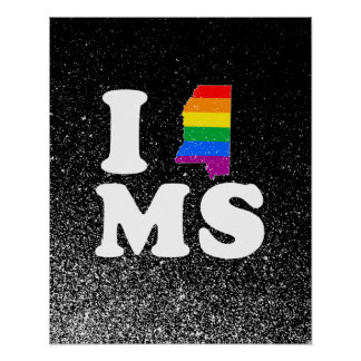 AMO MISSISSIPPI GAY -- BLANCO - png Poster