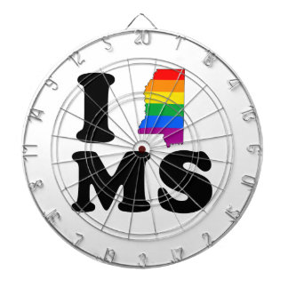 AMO MISSISSIPPI GAY TABLERO DARDOS
