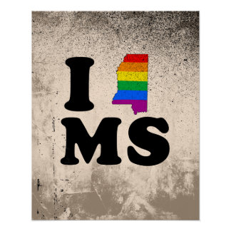 AMO MISSISSIPPI GAY POSTER