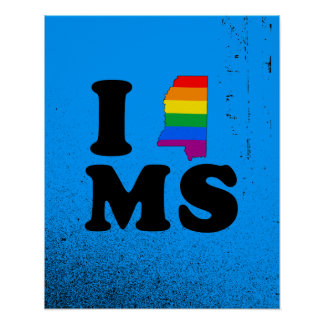 AMO MISSISSIPPI GAY POSTERS