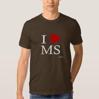 Amo Mississippi Playera