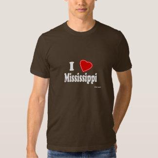 Amo Mississippi Playeras