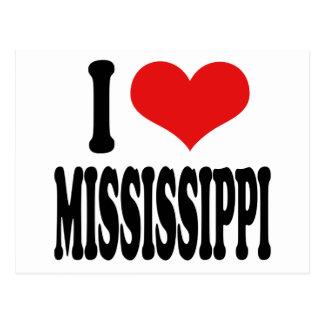 Amo Mississippi Postales