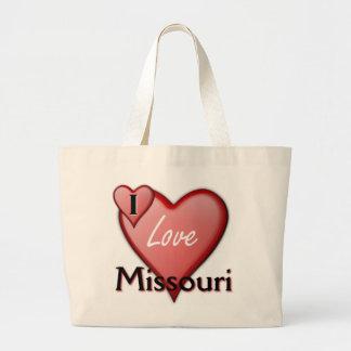 Amo Missouri Bolsa Tela Grande