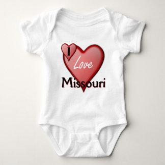 Amo Missouri Mameluco De Bebé