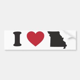 Amo Missouri Pegatina Para Auto
