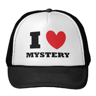 Amo misterio gorras de camionero