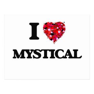 Amo místico postal