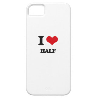 Amo mitad iPhone 5 Case-Mate coberturas