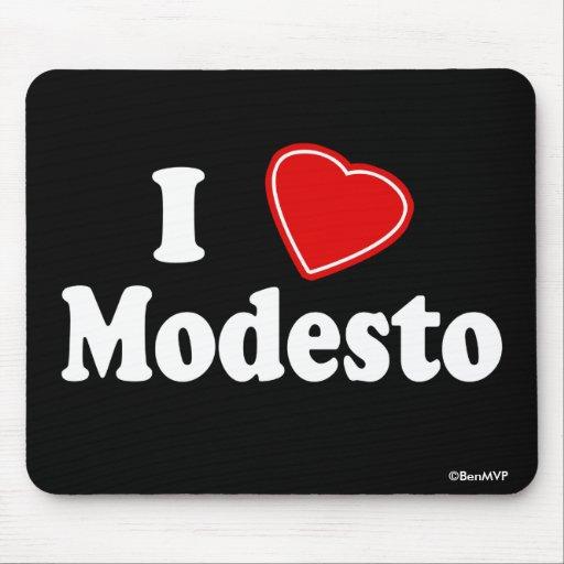 Amo Modesto Tapete De Ratón