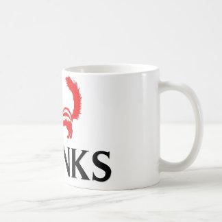 Amo mofetas taza