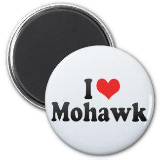 Amo Mohawk Imán Redondo 5 Cm