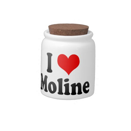 Amo Moline, Estados Unidos Jarra Para Caramelo