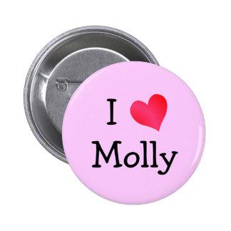 Amo Molly Pin Redondo De 2 Pulgadas