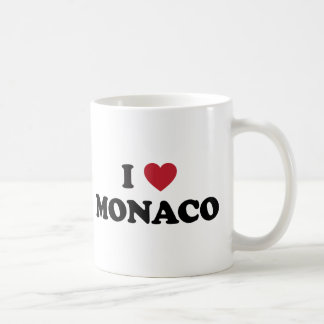 Amo Mónaco Taza Básica Blanca