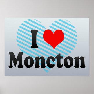 Amo Moncton Canadá Posters