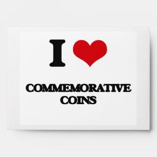Amo monedas conmemorativas sobres