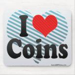 Amo monedas tapetes de ratones