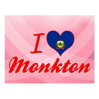 Amo Monkton, Vermont Tarjetas Postales