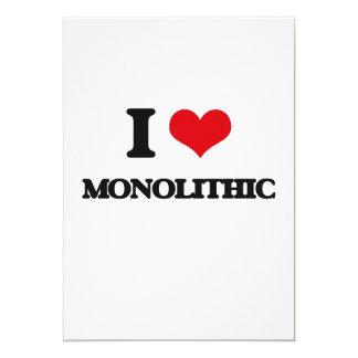 Amo monolítico invitación 12,7 x 17,8 cm