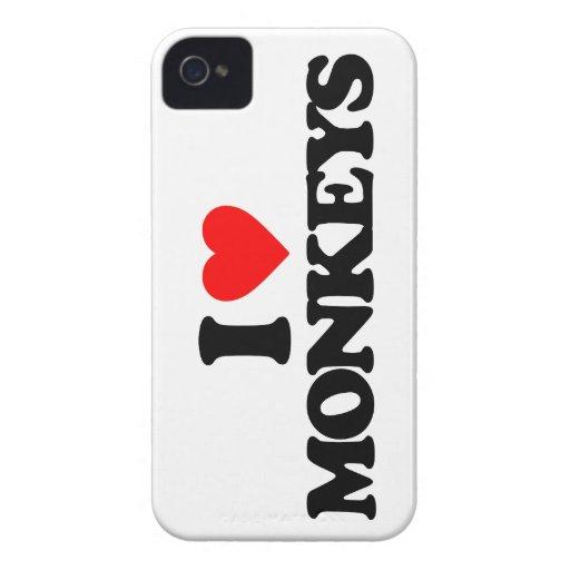 AMO MONOS iPhone 4 Case-Mate CARCASAS