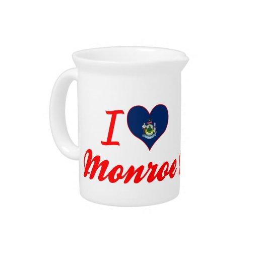 Amo Monroe, Maine Jarras