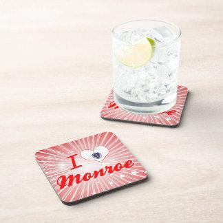 Amo Monroe, Massachusetts Posavasos De Bebidas