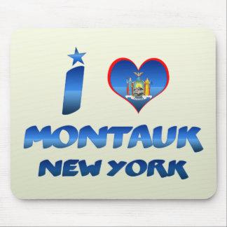 Amo Montauk Nueva York Alfombrillas De Raton