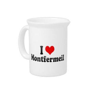 Amo Montfermeil, Francia Jarra Para Bebida
