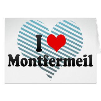 Amo Montfermeil, Francia Felicitacion