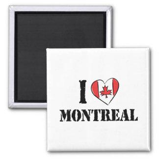 Amo Montreal Canadá Imán De Frigorifico