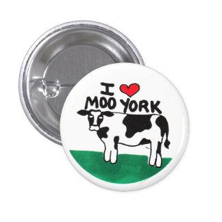 Amo MOO York Pin