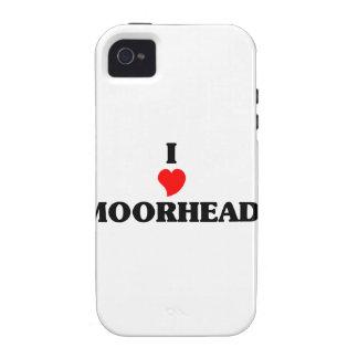 Amo Moorhead iPhone 4/4S Carcasas