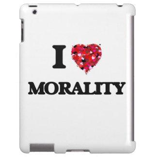 Amo moralidad funda para iPad