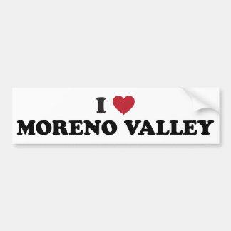 Amo Moreno Valley California Pegatina Para Auto