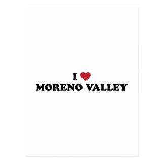Amo Moreno Valley California Tarjeta Postal