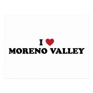Amo Moreno Valley California Tarjetas Postales